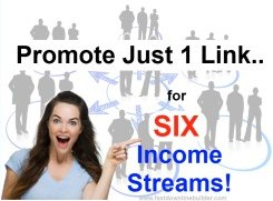 multiple streams of income from just 1 link