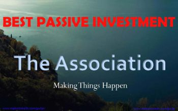 the association membership - best passive program with huge potential