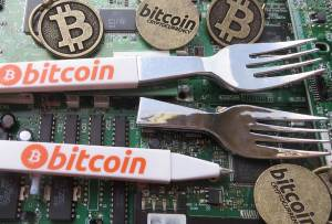 fork in the road for Bitcoin and Bitcoin Cash